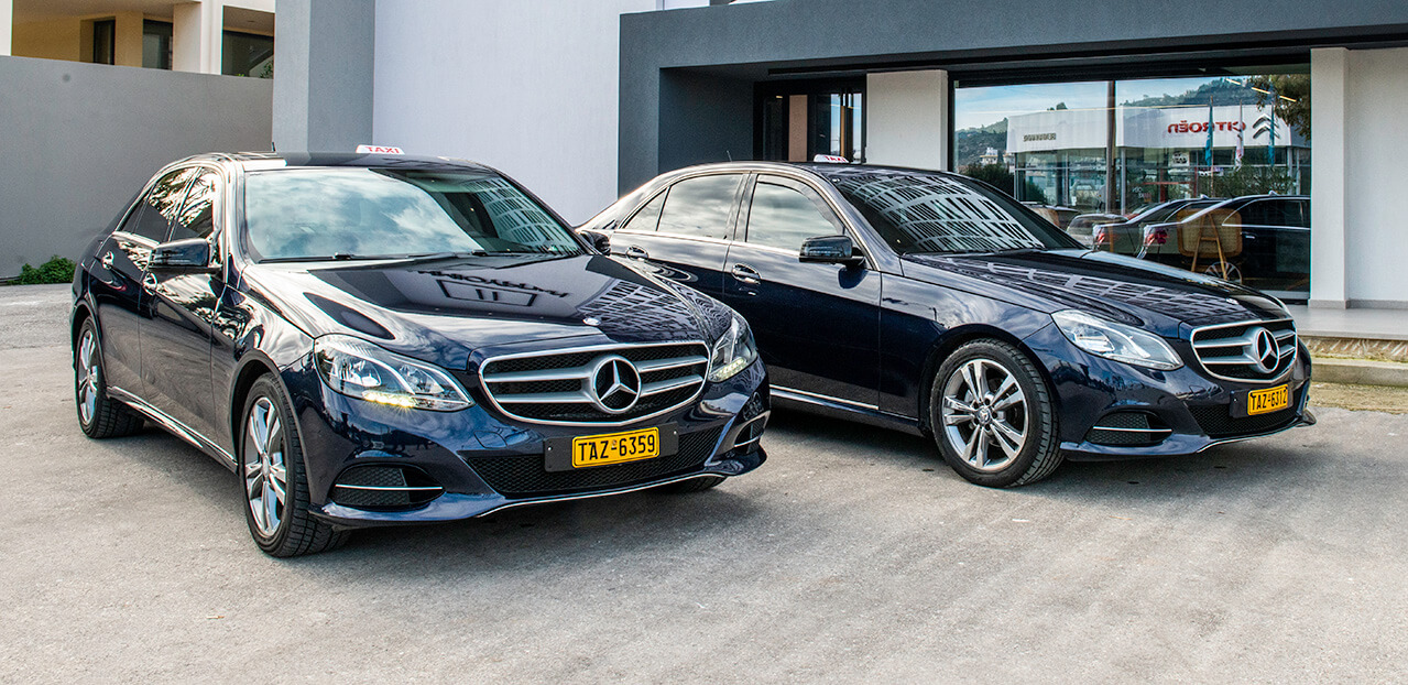 Zen Group High Quality Taxi and Minivan Transfers in Crete - taxi fleet